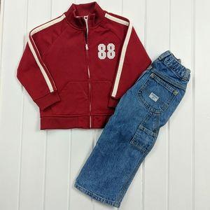 Boys 3T Athletic Jacket & Carpenter Pants Bundle